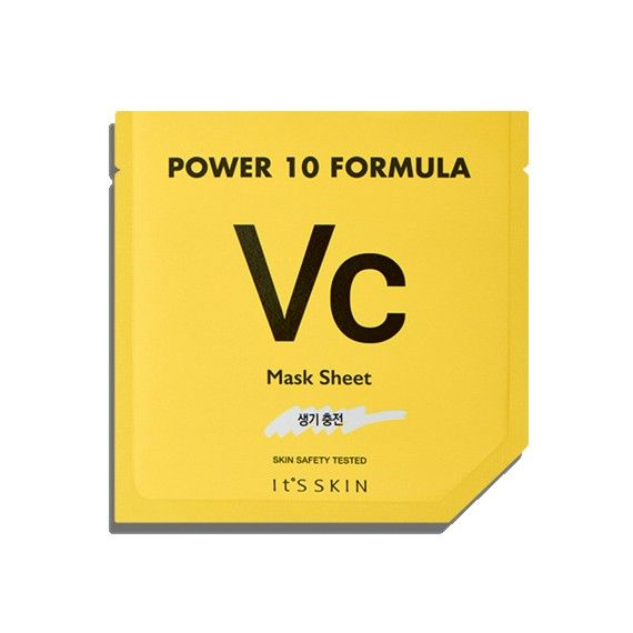 VC mask sheet delivers liveliness on the skin. Power 10 formula mask sheet is clinging tightly and soft texture with highly enriched essence.