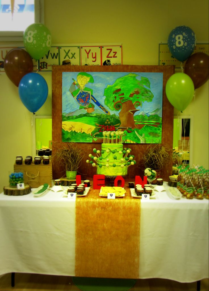 Desserts Zelda And Party Jpg 736x1023 Themed