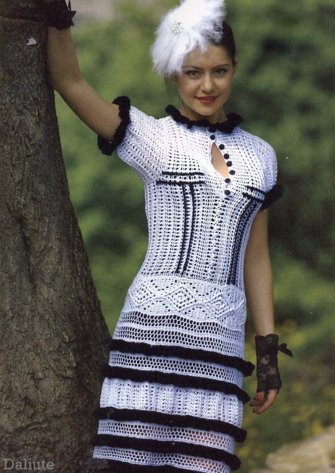 Mejores 43 imágenes de crochet chanel en Pinterest | Chaquetas ...