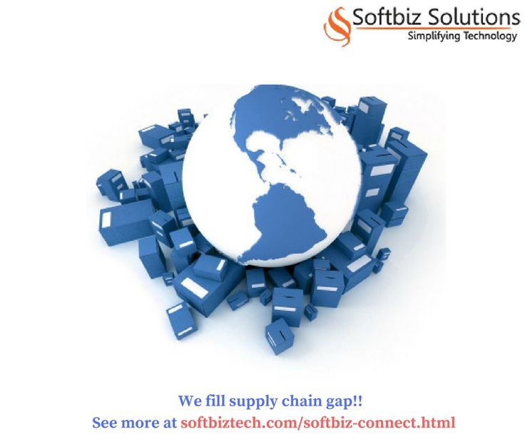 We ensure there is no supply chain gap ! Contact us at http://www.softbiztech.com/softbiz-connect.html