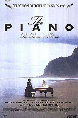 The Piano (1993) R   2h 1min   11 February 1994 (USA) - A mute woman along with her young daughter, and her prized piano, are sent to 1850s New Zealand for an arranged marriage to a wealthy landowner, and she's soon lusted after by a local worker on the plantation.