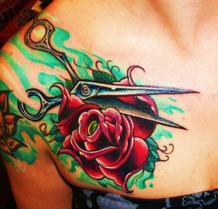 Hairdressing Tattoo Designs