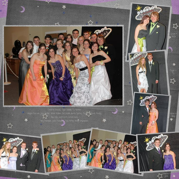prom scrapbook layouts | ... some summer night for both layouts, I got it from gottapixel.net