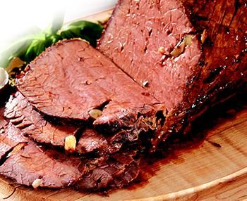 I'm checking out a delicious recipe for Beef Bottom Round Roast from Kroger!
