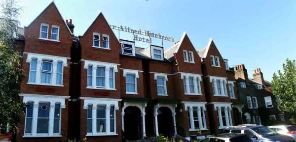 The Sir Alfred Hitchcock Hotel after refurbishment 2011-12, Leytonstone