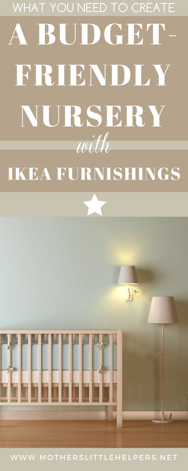 This is what you need to create a budget-friendly nursery with IKEA. The timeless design elements make for a room you won't have to remodel for years to come.   Nursery Furnishings   How to Plan a baby Nursery   ideas   neutral   layout   girl   boy   decor   DIY   Baby   IKEA  