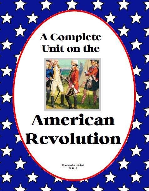 Christian Home School Hub - American Revolution and Forming a New Nation Teaching Resources