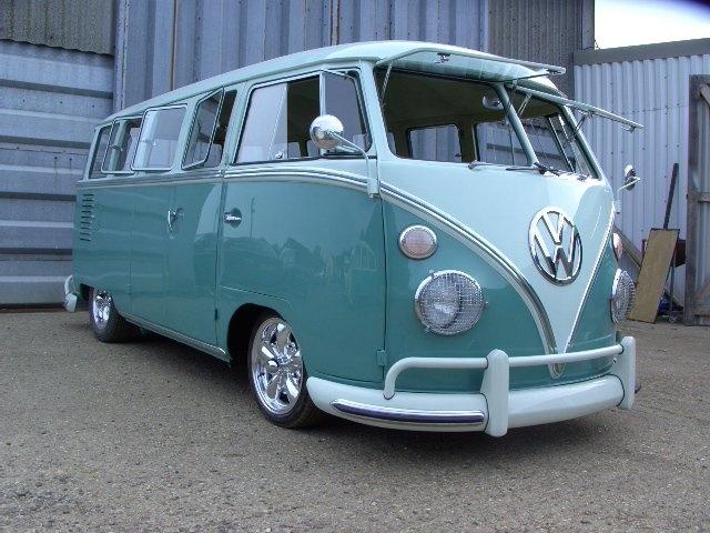 VW Campervan - the perfect wedding transport