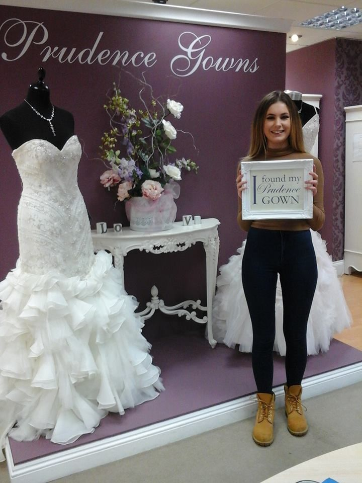 Letitia found her #promdress for her #prom in our #Plymouth store today. YAY! #DressingYourDreams #PrudenceGowns