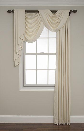 25 best drapery ideas on pinterest curtain ideas window curtain designs and curtain scarf ideas - Window Curtain Design Ideas