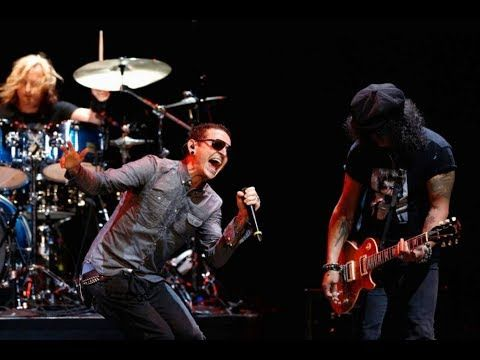 SLASH & CHESTER BENNINGTON  All The Young Dudes (Live 2013)