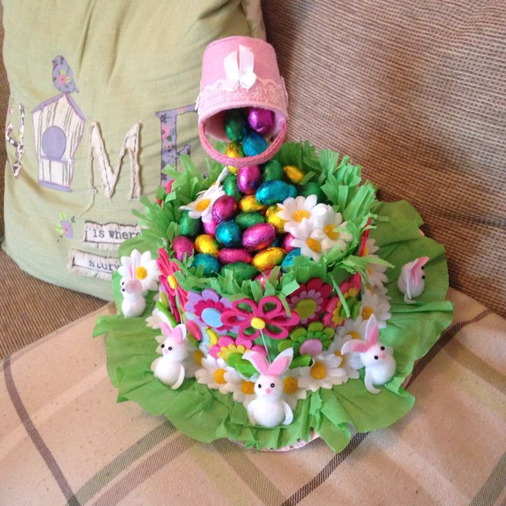 First attempt at a Easter bonnet!