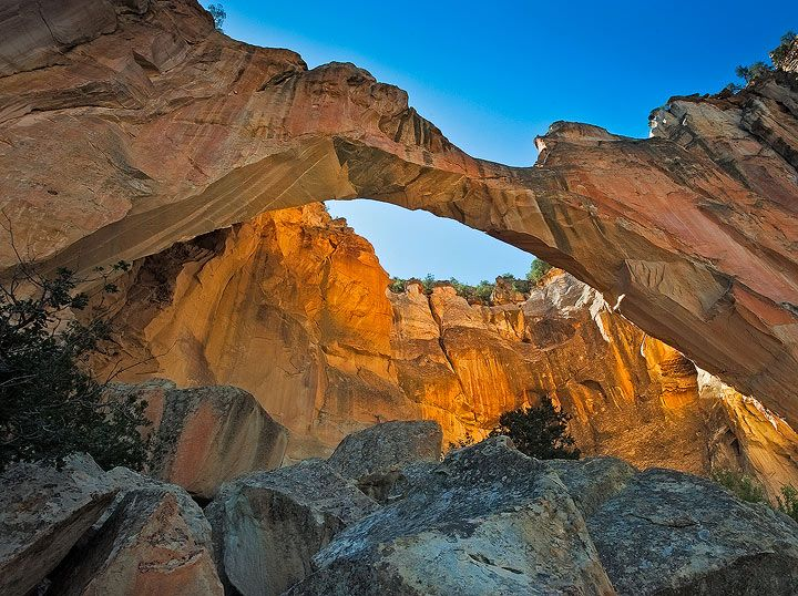 La Ventana Arch : El Malpais National Monument, New Mexico : Fine ...