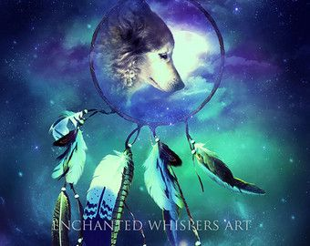 Fantasy wolf – Etsy CA