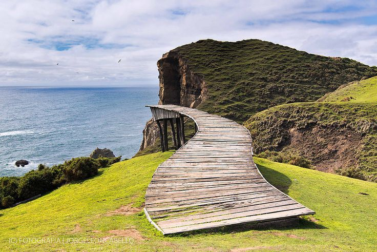 Muelle del Alma III - Punta Pirulil (Isla de Chiloe)
