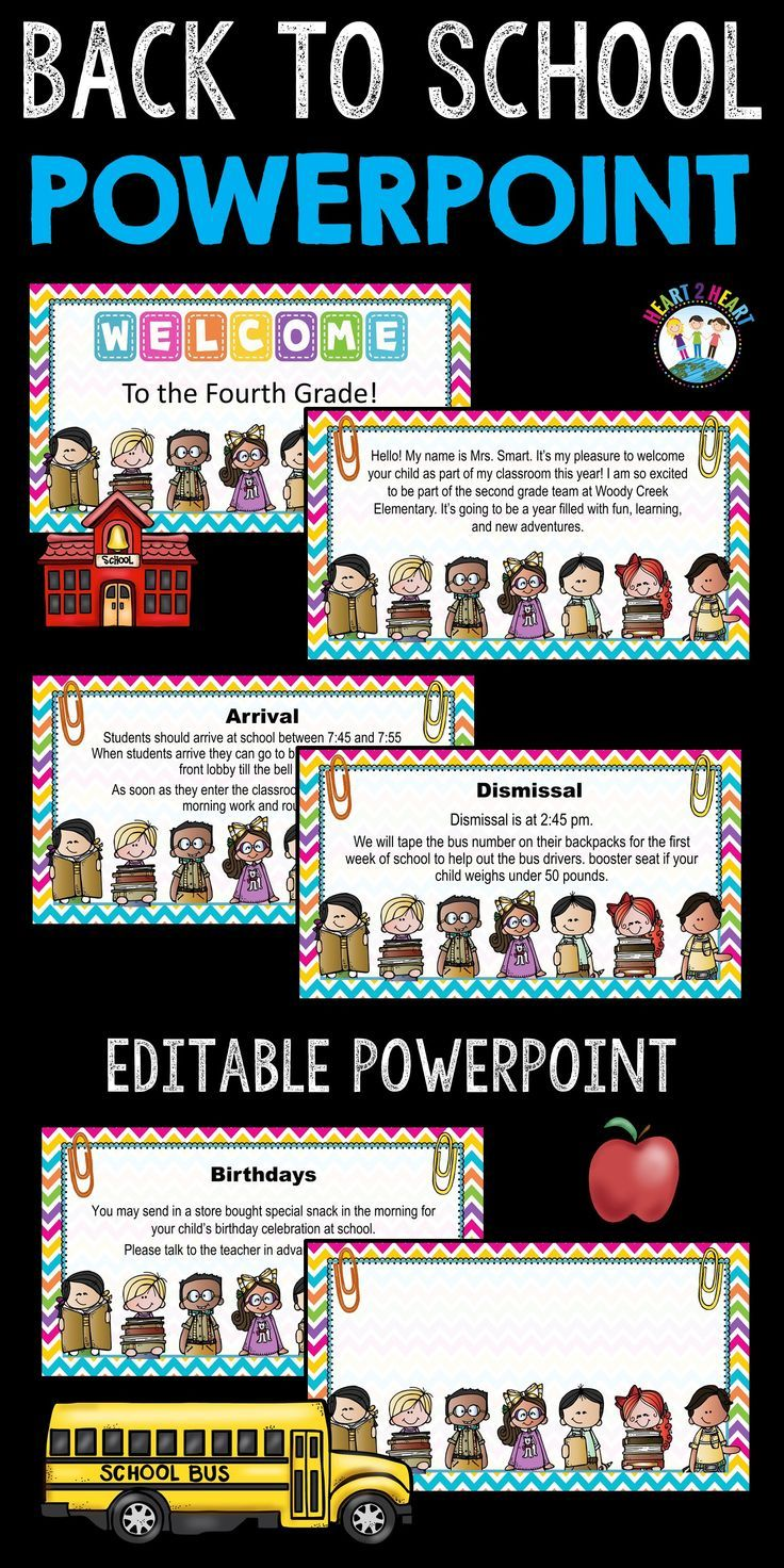 open house powerpoint meet the teacher study buddies design editable