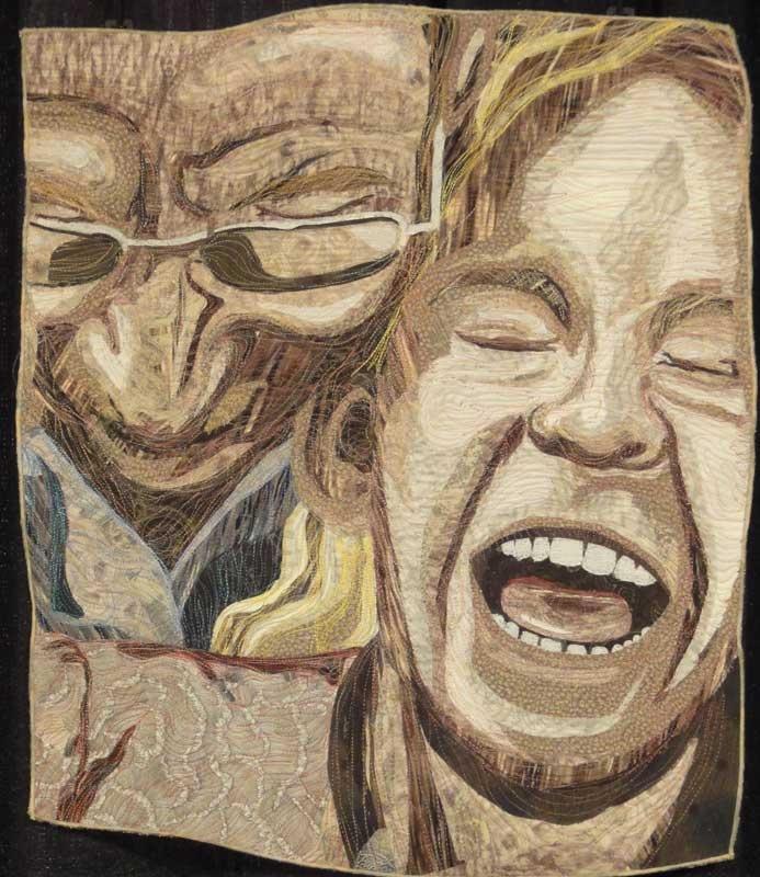 1067 best art: portrait quilts images on Pinterest | Art quilting ... : face quilts - Adamdwight.com