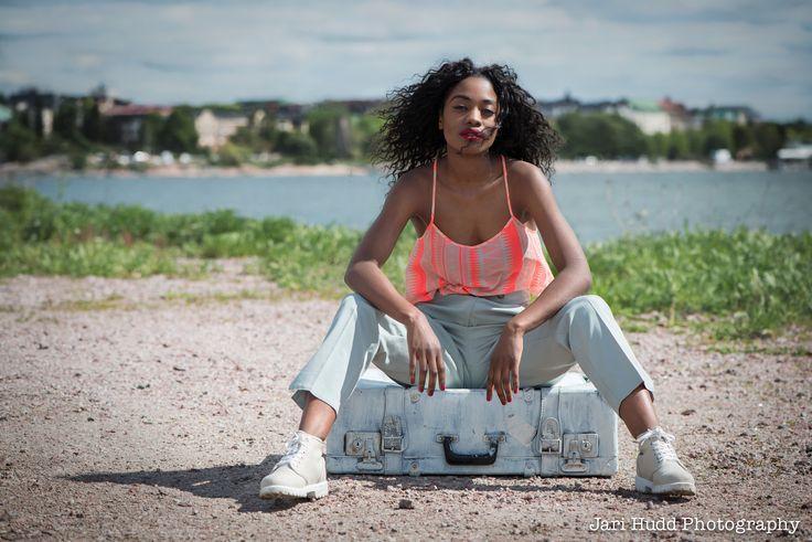 Model; Sandra Tembo