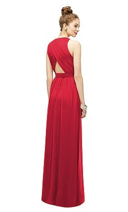 Back view #lelarose #red #bridesmaid https://www.bellebridesmaid.com.au/product/lily/