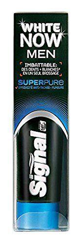 Signal Dentifrice Blancheur White Now Men Super Pure 75 ml: Conseils pour une bonne hygiène bucco-dentaire: Brossez-vous les dents après…