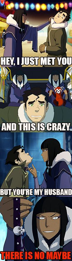 Poor Bolin! I feel so bad he has to deal with that crazy Eska!