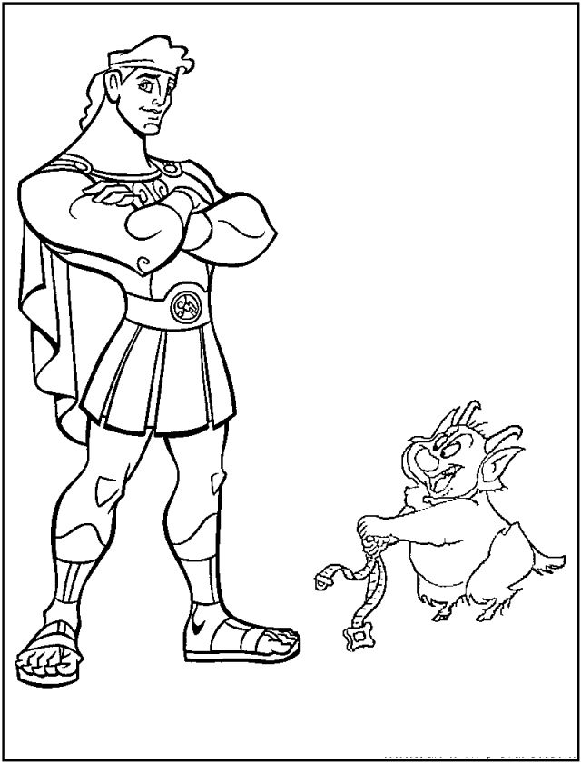 disney coloring pages for boys | 22 best Hercules Coloring Pages images on Pinterest ...