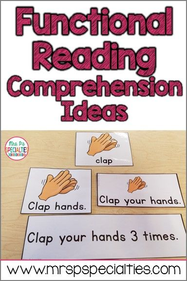 Demonstrating reading comprehension can be very challenging for students in special education, especially students with autism. Here are ideas for building and assessing reading comprehension.