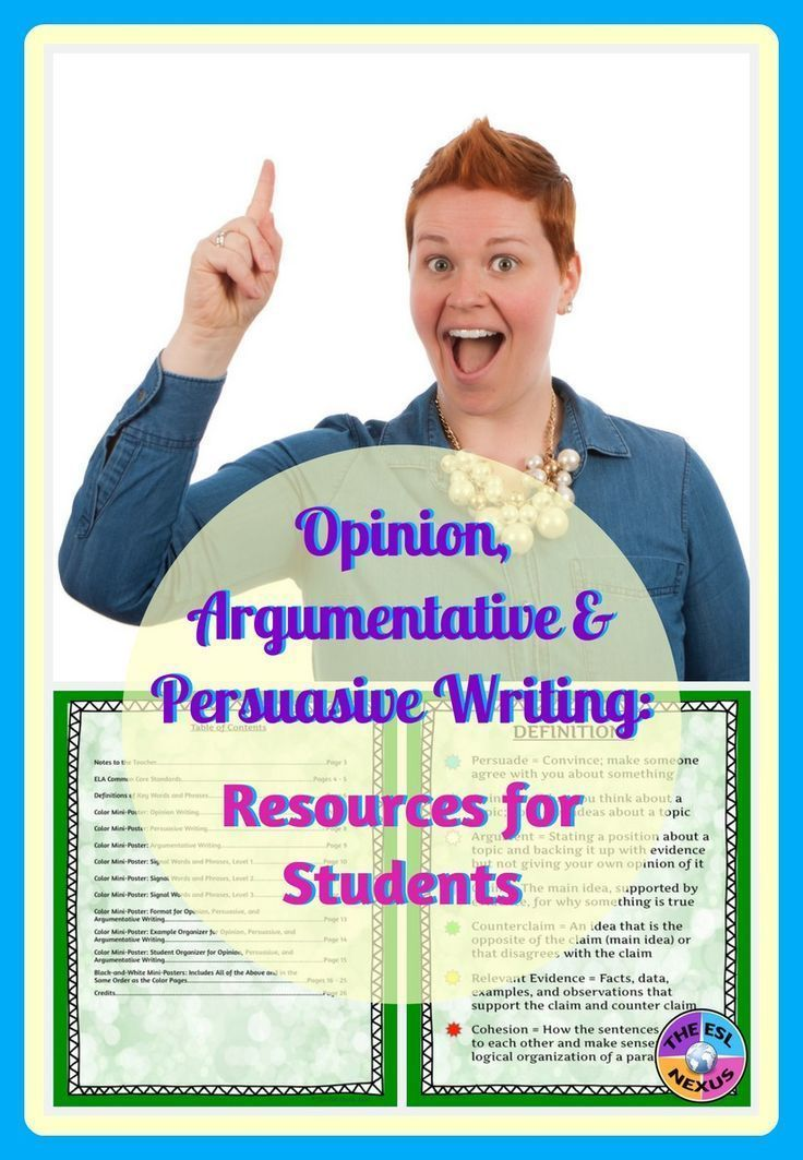 persuasive-argumentative essay Practicing persuasive writing helps kids become accustomed to stating their  as  kids answer each prompt and attempt each practice argument, encourage them  to  guidelines to follow in order to be able to write a good persuasive essay.