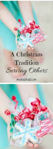 A Christmas Tradition Serving Others by Mel's Doodle Designs