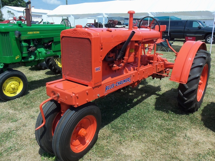 Wc Case Tractor : Allis chalmers wc unstyled tractors pinterest