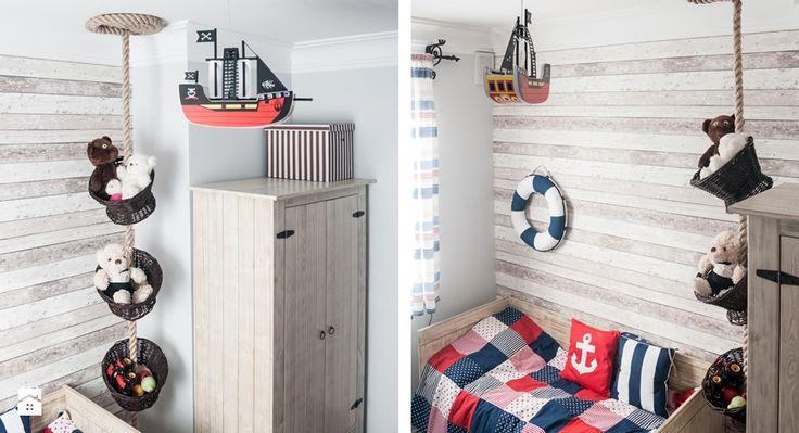 Pokój dla chłopca, inspirowany morzem - konkurs Pokój dziecka - zdjęcie od Ewa Weber - Pracownia Projektowa