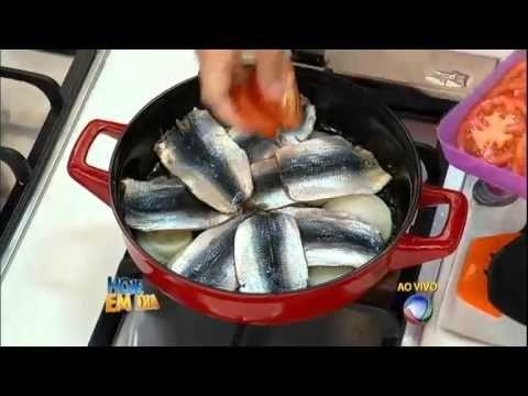 Três em um: Edu Guedes ensina receitas deliciosas com sardinha fresca #Receitas - YouTube