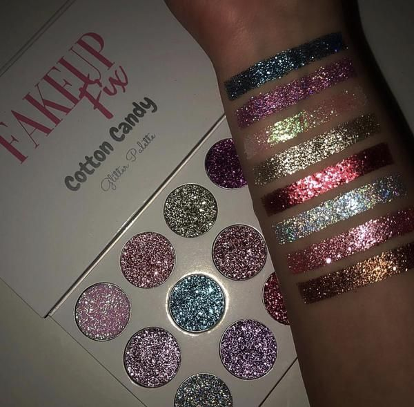 "Cotton Candy"" Glitter Palette"