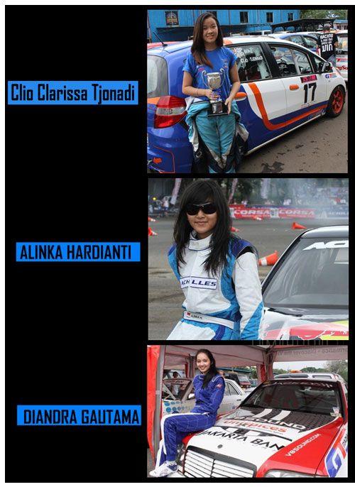 Pembalap Wanita Indonesia Yang Cantik dan Berprestasi - http://www.otomotifpedia.com/pembalap-wanita-indonesia/