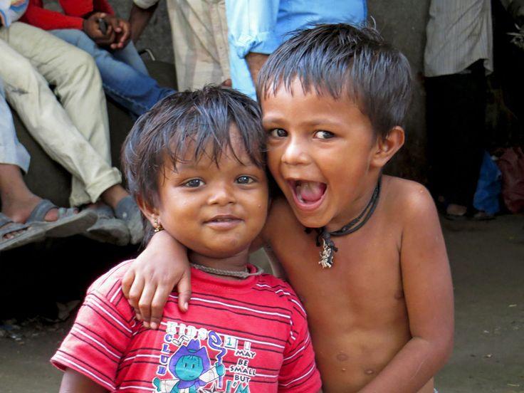 Street kids, Mumbai