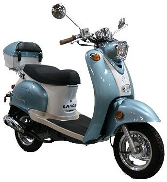 50cc Lance Charming 50 Moped Scooter $1299.00