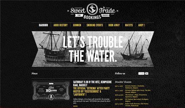 Sweet Trade Bookings by Lovestain , via Behance