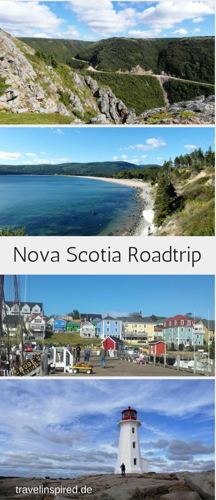 Unser Roadtrip durch Nova Scotia in Ostkanada führt uns durch atemberaubende Landschaft, an der Hauptstadt Halifax, hübschen Küstenorten und Leuchttürmen vorbei. Reisebericht, Tipps und Bilder in unserem Blogpost auf Travelinspired! #ostkanada #roadtrip #novascotia #halifax #leuchtturm #capebreton
