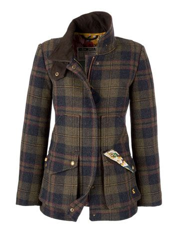 Tweed jacket. A wonderful look and functional too. Great for the outdoors.