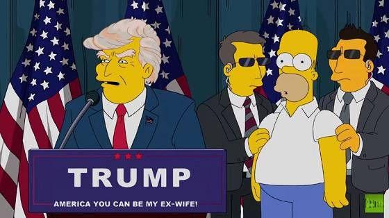 """「シンプソンズ」が""""暴君""""大統領候補トランプの出現を完全予言していた! 全米崩壊の未来も…!? - 紙幣の不思議2"""