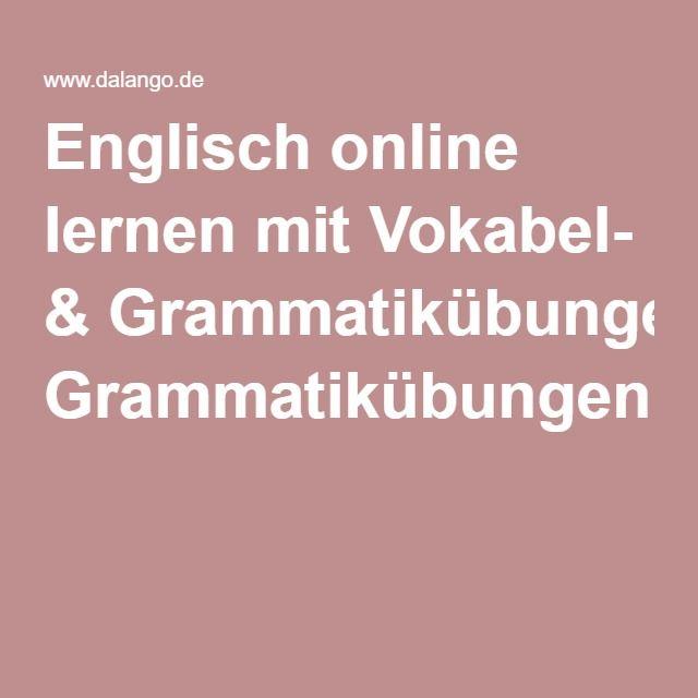 Englisch online lernen mit Vokabel- & Grammatikübungen