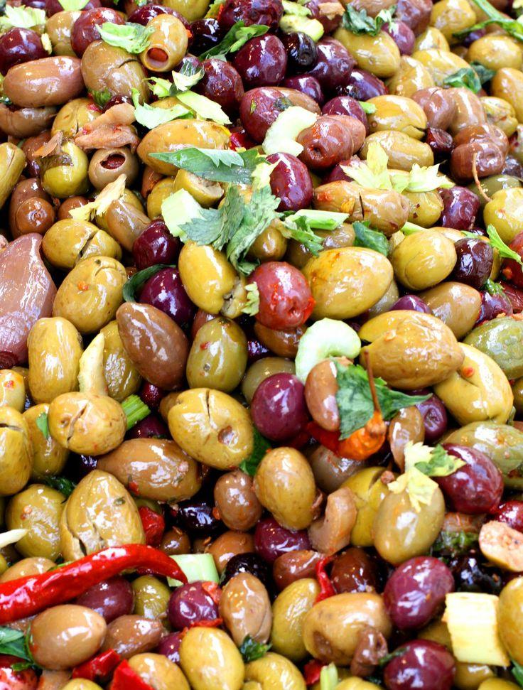 Olive siciliane! Sicilian Olives!