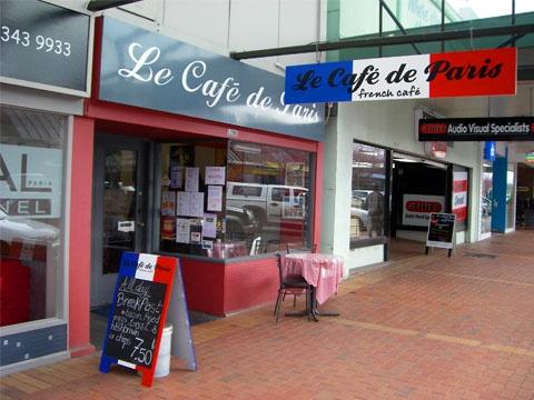 Rotorua Golf Club Sponsor Spotlight:  Le Cafe de Paris    Situated on Rotorua's Hinemoa Street (1206) Cafe de #Paris is where to go for authentic #French cuisine.    www.rotoruagolfclub.co.nz