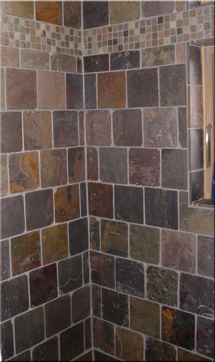Best 25 slate tile bathrooms ideas on pinterest slate for 6x6 room design