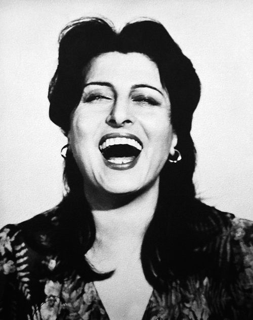 Anna Magnani ~ http://www.pinterest.com/passionateman57/la-grande-magnani/ & http://junevelcro.tumblr.com/post/11985032509/wehadfacesthen-anna-magnani-1953-photo-by