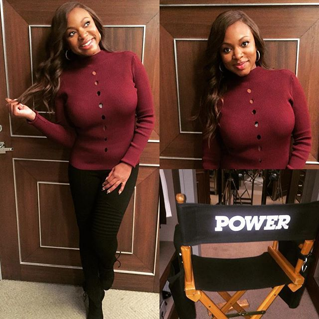 WEBSTA @naturi4real On set like YAY!!Thanks @naacpimageawards 4 nominating me, my fearless leading man @omarihardwickofficial ,our phenomenal cast of @power_starz