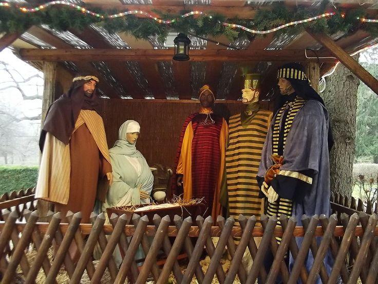 A verőcei Katolikus Szeretetszolgálat Migazzi Otthonának Betlehemje