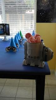 Wall E themed party (little boy)