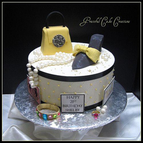 Fashionista Birthday Cake