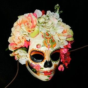 day of the dead masks paper mache how to make | Day of the Dead Mask Dragon Bride review at Kaboodle